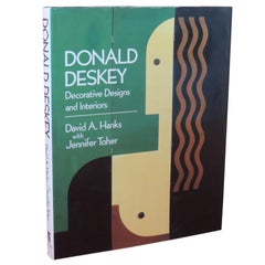Donald Deskey Decorative Designs and Interiors Vintage Coffee Table Book