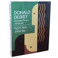Donald Deskey Decorative Designs and Interiors Hardcover Vintage Decorative Book