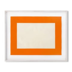 Untitled (Cadmium Yellow Deep), Minimalism, Abstract Geometric, 20th Century