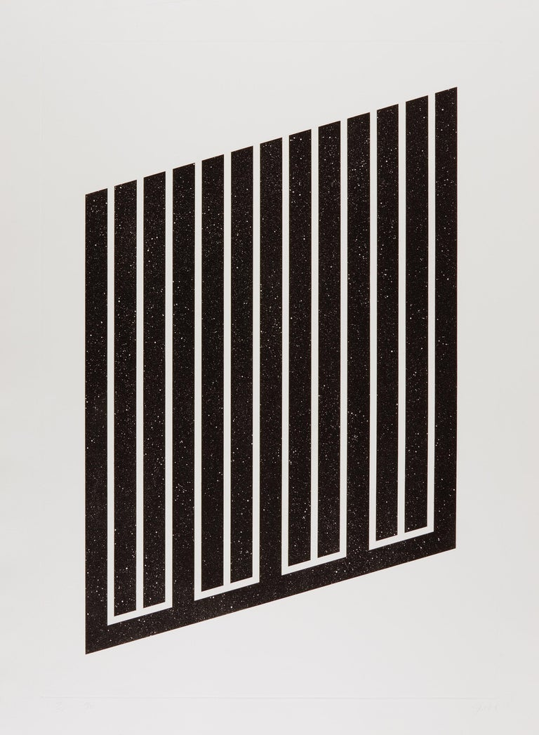 Donald Judd Abstract Print - Untitled