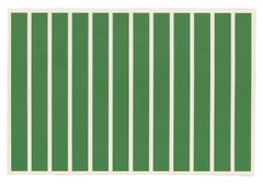 Untitled -- Print, Woodcut, Minimalism, Contemporary Art by Donald Judd