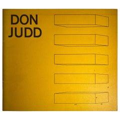 Donald Judd Whitney Museum Catalog