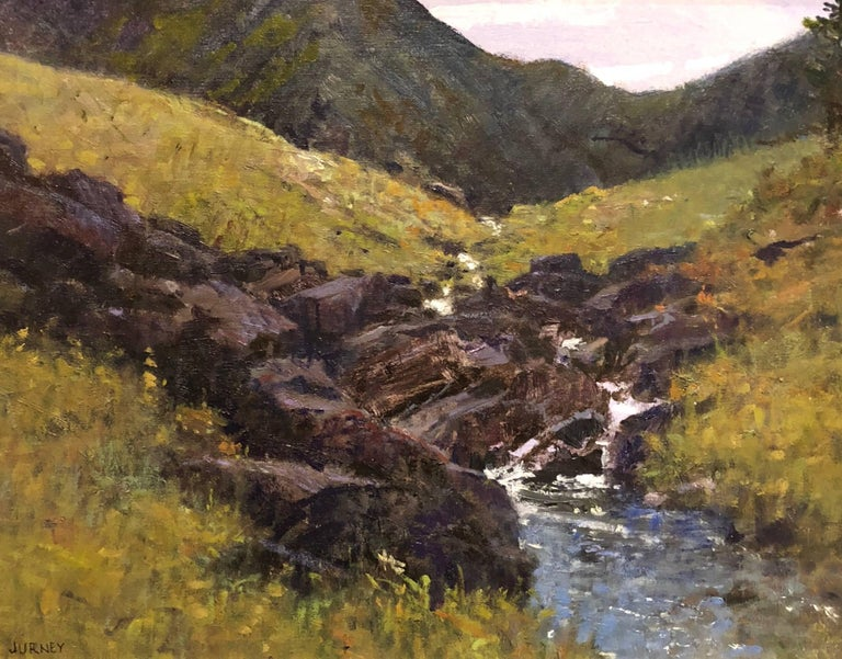 Donald Jurney A Mountain Kingdom Painting For Sale At