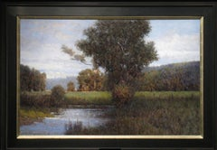 End of Summer, landscape oil painting by Donald Jurney