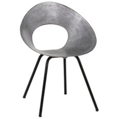 Donald Knorr, Chair 132U in Metal, 1950's