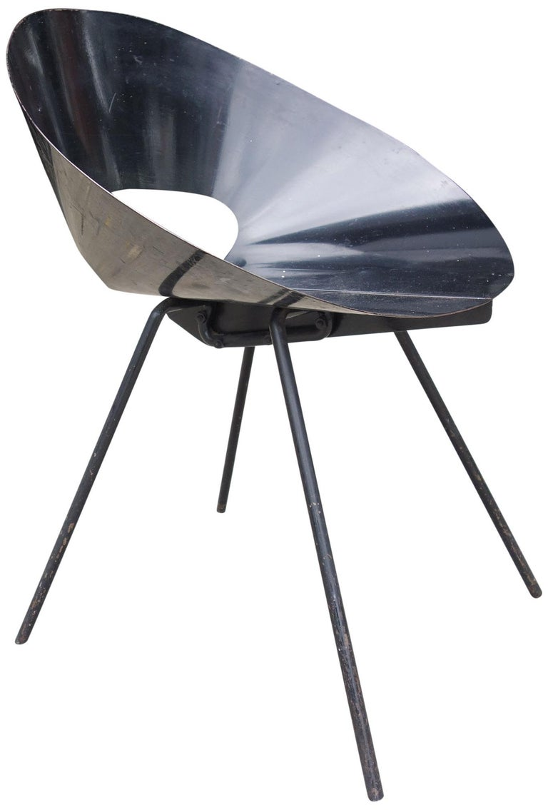 Donald Knorr Chair for Knoll Associates, 1948 In Good Condition For Sale In BROOKLYN, NY