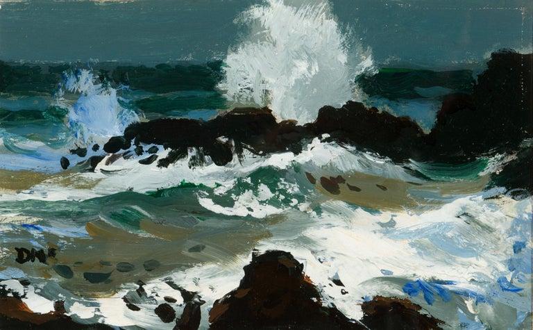 Coastal Spray - Painting by Donald McIntyre