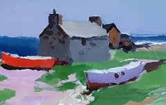 Modern British Cottage on Iona, Scotland Donald McIntyre 'The Beach Hideaway'