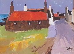 Modern British Landscape Painting 'Sandhaven' by Donald McIntyre