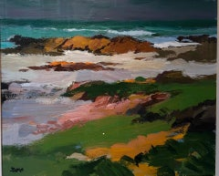 Modern British Seascape Scotland by Donald McIntyre 'North Shore Iona'
