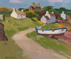 Porthgain, Pembrokeshire - AcrylicPaintings of Boats & Houses by McIntyre