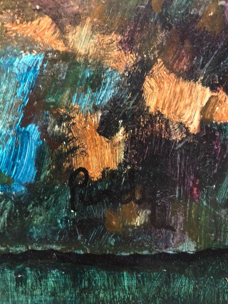 Modernist Landscape Oil Painting For Sale 1