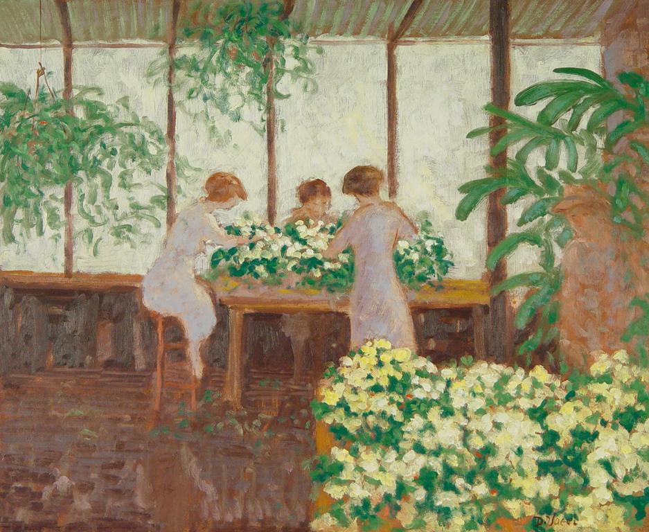 Donald S. Vogel Interior Paintings