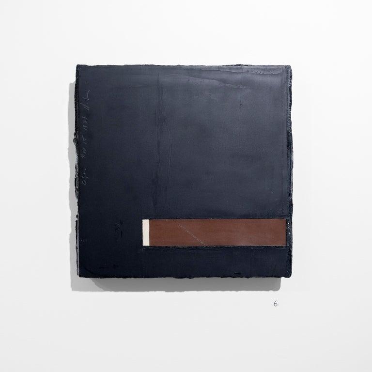 Cigar, 15 November 1979 - Donald Sultan (Mixed Media) - Contemporary Mixed Media Art by Donald Sultan