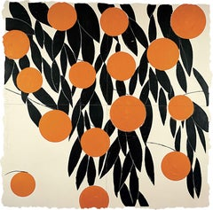 Fifteen Oranges, 17 September 1992 - Donald Sultan (Mixed Media)