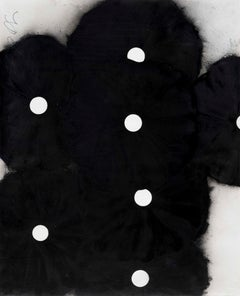 Seven Black Flowers, 7 June 1999  - Donald Sultan (Mixed Media)