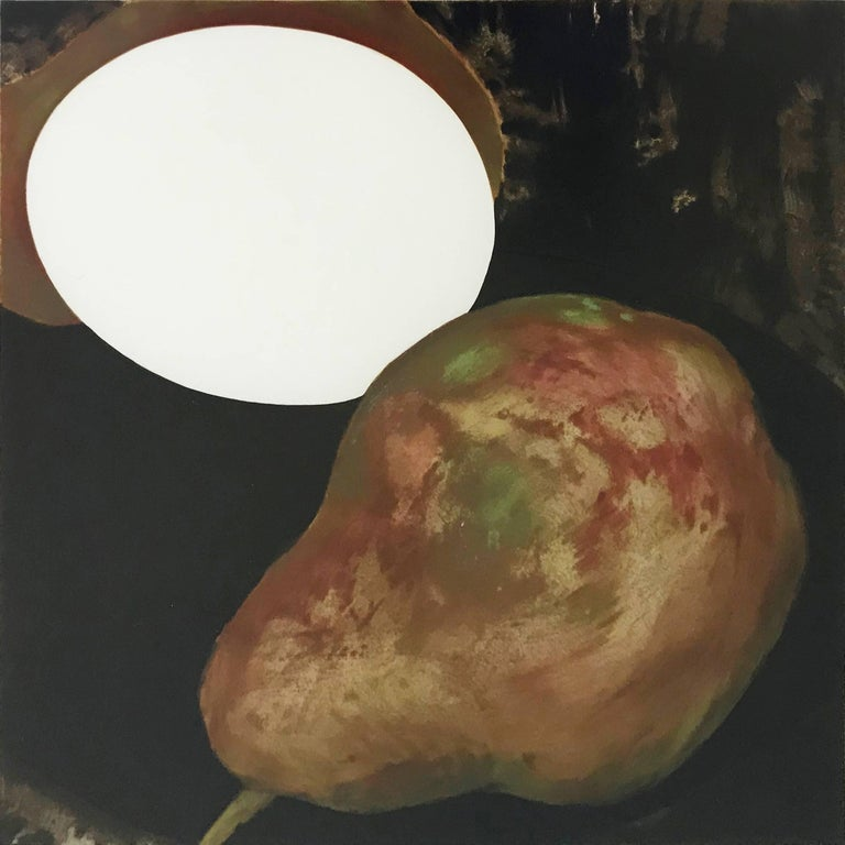 2 PEARS, A LEMON, AND AN EGG - Print by Donald Sultan