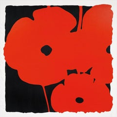 Big Poppies, Donald Sultan