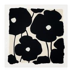 Blacks, Flower Still-Life, Contemporary Art, Pop Art