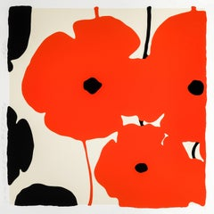 Four Poppies II, Red