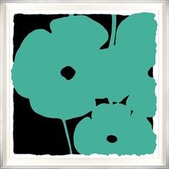 Poppies: Aqua