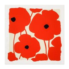 Reds, Flower Still-Life, Contemporary Art, Pop Art