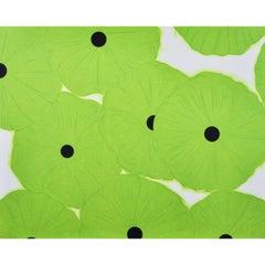 Ten Greens - Contemporary, 21st Century, Silkscreen, Limited Edition, Green