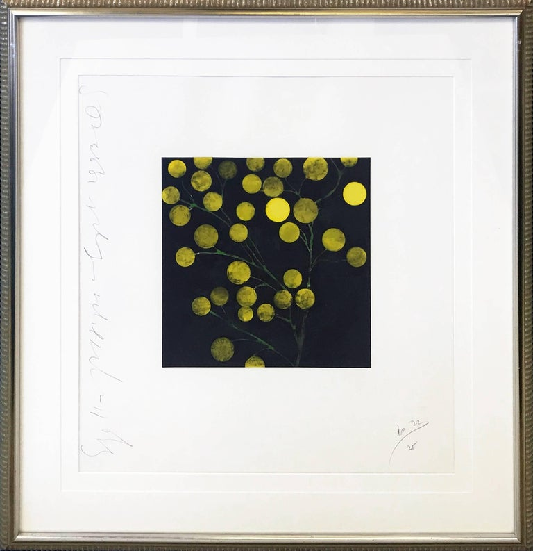 Donald Sultan Figurative Print - YELLOW PEPPERS
