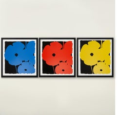Big Poppies - Contemporary, 21st Century, Silkscreen, Poppies, Limited Edition