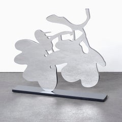 Silver Lantern Flowers, May 5 - Contemporary, 21st Century, Sculpture, Flower
