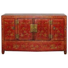 Dongbei Red Wedding Sideboard