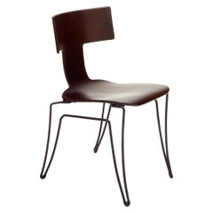 Donghia Anziano Occasional Chair in Brown Mahogany