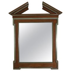 Donghia Broken Pediment Mirror by John Hutton