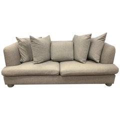 Donghia Designed by John Hutton Gray Wool Large Custom Sofa