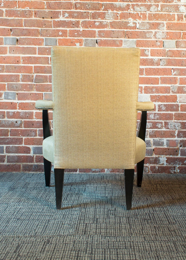 Late Victorian Donghia Eaton Fauteuil Chair For Sale