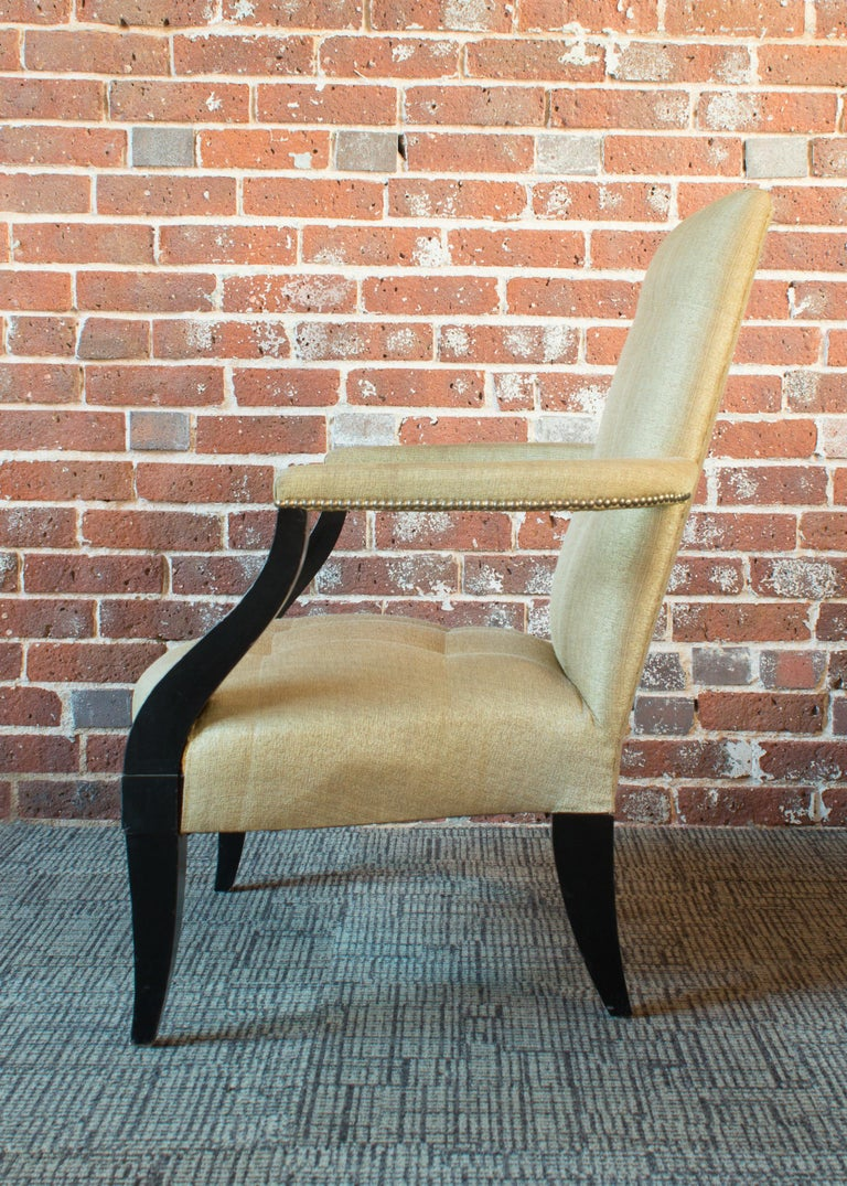 American Donghia Eaton Fauteuil Chair For Sale