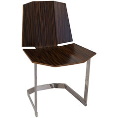 Donghia Rex Occasional Chair in Faux Ebony