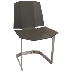 Donghia Rex Occasional Chair in Truffle Lacquer