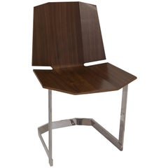 Donghia Rex Occasional Chair in Walnut