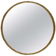 Donghia Round Brass Mirror
