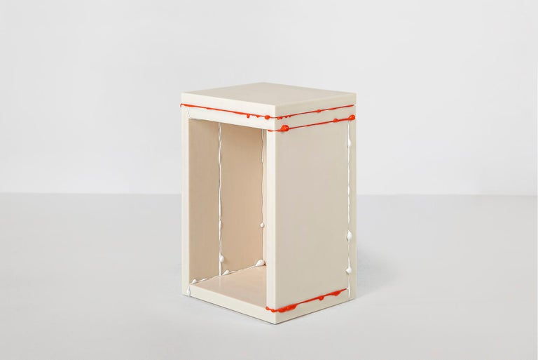 Donghoon Shon Contemporary Side Table White, Korean Contemporary Design, 2020 In New Condition For Sale In Barcelona, ES