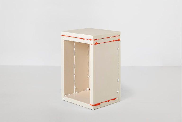 Donghoon Shon Contemporary Side Table White, Korean Contemporary Design, 2020 For Sale 1