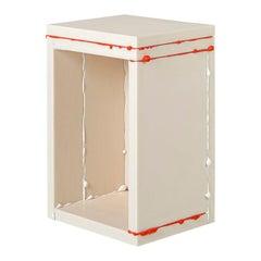 Donghoon Shon Contemporary Side Table White, Korean Contemporary Design, 2020