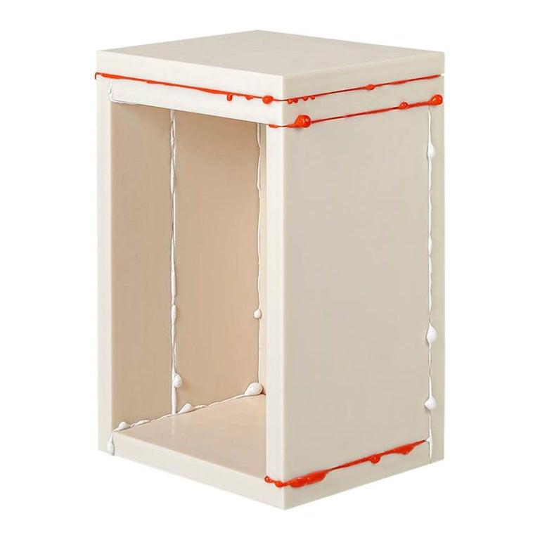 Donghoon Shon Contemporary Side Table White, Korean Contemporary Design, 2020 For Sale