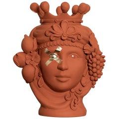 Donna Assunta Orange Vase