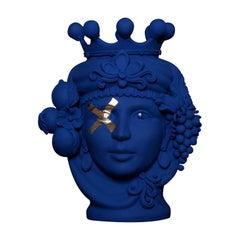 Donna Assunta Yves Klein Vase