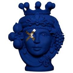 Donna Assunta Blue Oltremare Vase