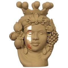 Donna Carmela Green Vase