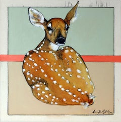 Hiding in Plain Sight (fawn, woodland creature, deer)