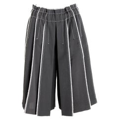 Donna Karan DKNY Black Pleated Pants Skirt 2000s